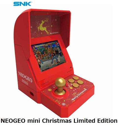 SNK NEOGEO mini Christmas Limited Editionネオジオミニ ゲーム機 単体 新品