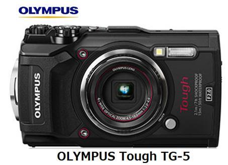 オリンパス OLYMPUS Tough TG-5 [ブラック]コンパクトデジタルカメラ 単体 新品