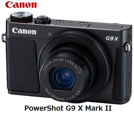 CANON PowerShot G9 X Mark II [ブラック]キャノン コンパクトデジタルカメラ 単体 新品