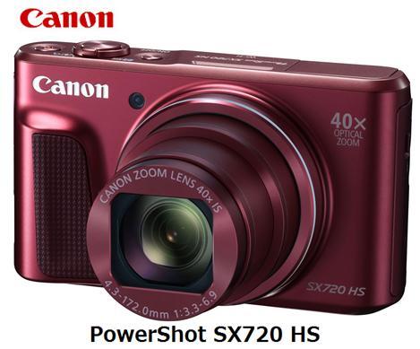 CANON PowerShot SX720 HS [レッド]キャノン コンパクトデジタルカメラ 単体 新品