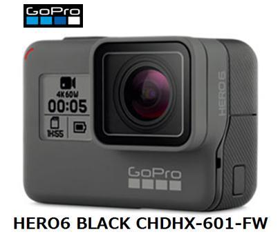 GoPro HERO6 BLACK CHDHX-601-FWゴープロ 4K Bluetooth アクション ビデオカメラ 単体 新品