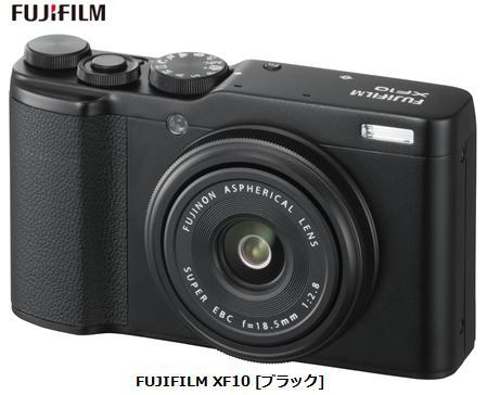【3月21日~28日 カード決済でポイント最大27倍】 富士フイルム FUJIFILM XF10 [ブラック]FUJIFILM コンパクトデジタルカメラ 単体 新品