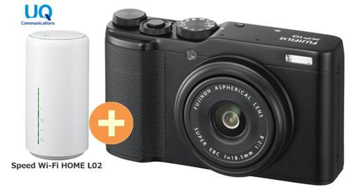 UQ WiMAX XF10 正規代理店 3年契約UQ Flat Wi-Fi ツープラス富士フイルム FUJIFILM XF10 [ブラック] 3年契約UQ + WIMAX2+ Speed Wi-Fi HOME L02 FUJIFILM コンパクトデジタルカメラ セット 新品【回線セット販売】B, アロマルーム:2163bc10 --- sunward.msk.ru