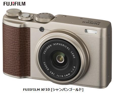富士フイルム FUJIFILM XF10 [シャンパンゴールド]FUJIFILM コンパクトデジタルカメラ 単体 新品
