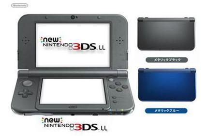 任天堂Newニンテンドー3DS LLnintendo ゲーム機 単体 新品