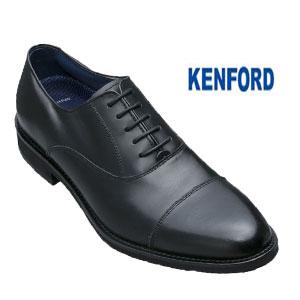ケンフォード KENFORD 靴 メンズ ストレートチップ ビジネスシューズ 本革 KN66ACJ ブラック 内羽根式 E 日本製 就活 リクルート 就職 彼氏 父の日 お誕生日 プレゼント ギフト 20 30 40 50代