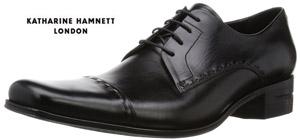 キャサリンハムネット 靴 ビジネスシューズ 本革 ブラック KATHARINE HAMNETT KATHARINE 31601 ブラック メンズ ビジカジ 紳士 ストレートチップ レザーシューズ ビジカジ, 空間工房リンクル:1ea58092 --- rdtrivselbridge.se