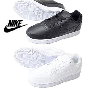 ナイキ NIKE スニーカー レディース ウィメンズ エバノン LOW SL WOMENS EBERNON LOW SL ブラック ホワイトローカット 靴 AQ1777-001 AQ1777-100