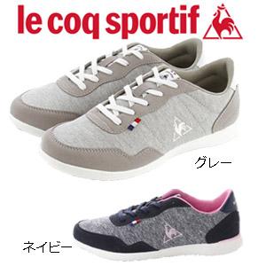 ルコック スニーカー レディース セギュール2 ワイド SW グレー ルコックスポルティフ le coq sportif QL3LJC12GY 軽量 ウォーキング 靴