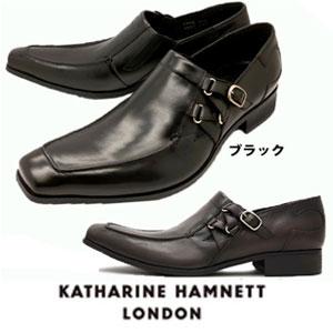 キャサリンハムネット 靴 本革 ビジネスシューズ 靴 本革 KATHARINE HAMNETT Uチップ 3970 ブラック ダークブラウン メンズ 紳士 Uチップ サイドストラップ スリッポンートチップ レザーシューズ ビジカジ, いわきチョコレート:7d566cc6 --- rdtrivselbridge.se