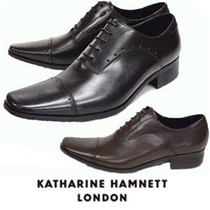 キャサリンハムネット 靴 ビジネスシューズ 紳士 ブラック 本革 KATHARINE HAMNETT 3978 ビジカジ ブラック ダークブラウン メンズ 紳士 ストレートチップ レザーシューズ ビジカジ, 越前のホルモン屋:39a91c0c --- rdtrivselbridge.se
