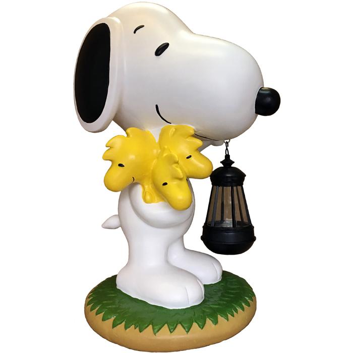 スヌーピー ソーラーランタン スヌーピー&ウッドストック【送料無料】 Snoopy