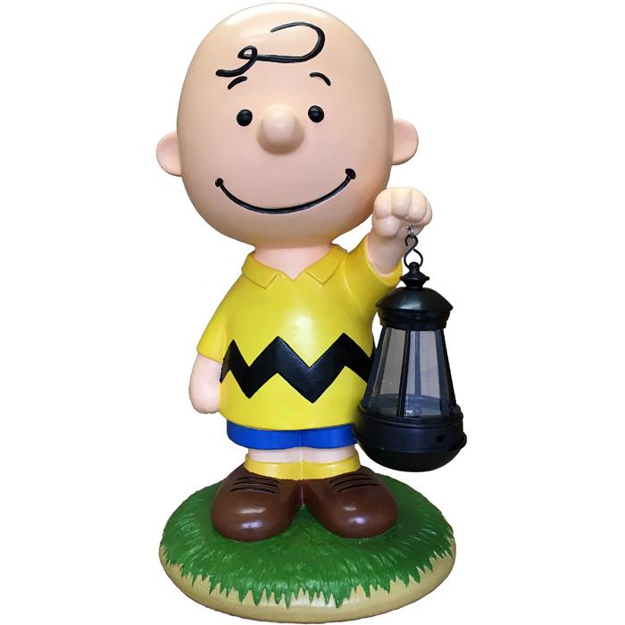 スヌーピー ソーラーランタン チャーリーブラウン【送料無料】 Snoopy