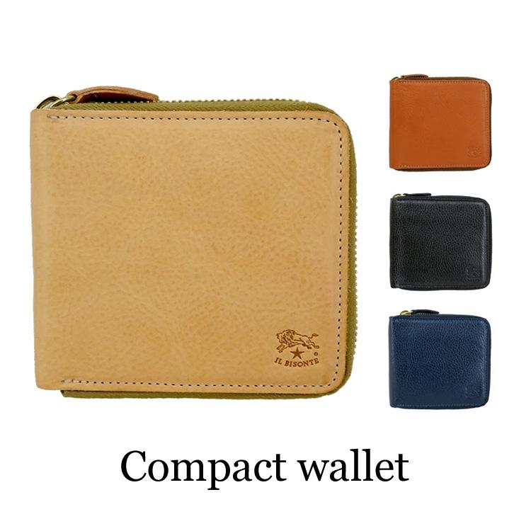 IL BISONTE イルビゾンテ 財布 C0990 メンズ レディース 父の日 プレゼント レザー 札入れ 小銭入れ コインケース ウォレット