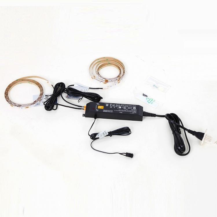 送料無料 地球家具フィギュアラック ワイド 幅83cm ハイタイプ用 LED単品 (LEDのみ) 2点セット