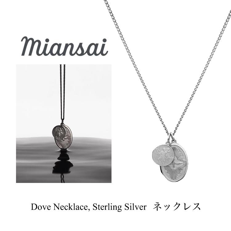 ミアンサイ ネックレス Miansai Mini Dove Necklace, Sterling Silver メンズ レディース アクセサリー ペンダント ジュエリー プレゼント マイアンサイ