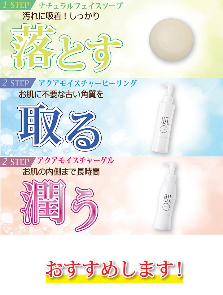 HADAMARU幸运袋 去角质乳&保湿精华&洁面皂一体痤疮,一个温和的去角质乳液温和去角质敏感皮肤,皮肤干燥可以每天使用,乳胶,底漆,污点讨价还价集