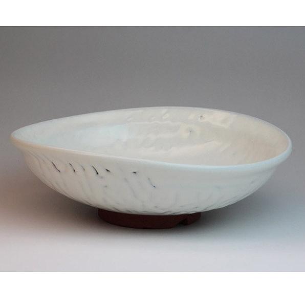 萩焼 清閑盛鉢(化粧箱) Hagiyaki Bowl made in Japan. Japanese pottery.