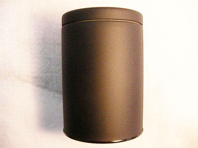 大罐 (哑光黑) 水分可以 (为 150-250 克)