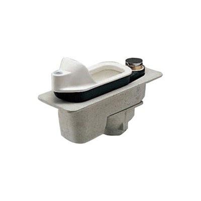 TOTO:和風便器用耐火カバー(床上施工タイプ) 掃除口付・床上給水便器用 型式:HGS755VC
