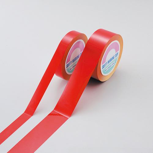 日本緑十字社:ガードテープ(再はく離タイプ) 赤 型式:GTH-251R (149014)