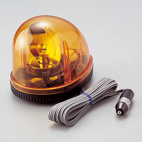 日本緑十字社:マグネット着脱式回転灯 <RWM> 型式:RWM-12 (324012)