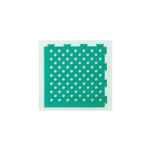 日本緑十字社:ソフトチェッカーマット 型式:ソフトチェッカーS(緑) (296051)(1セット:32枚入)
