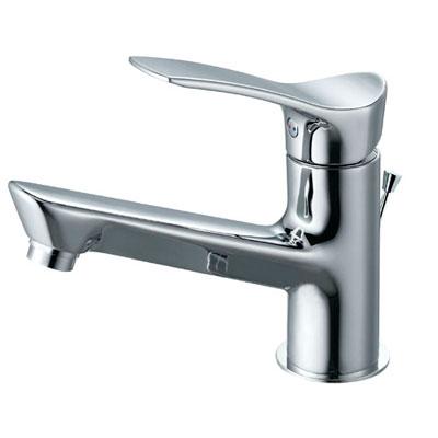 SANEI(旧:三栄水栓製作所):シングルワンホール洗面混合栓 型式:K4712PJK-13