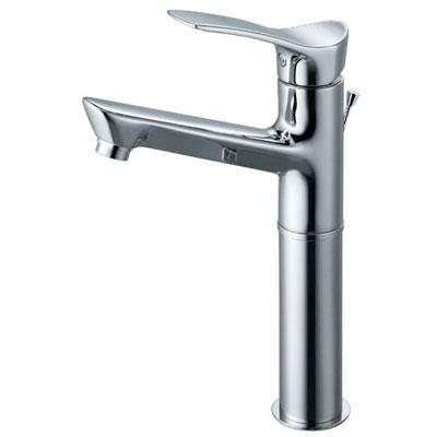 SANEI(旧:三栄水栓製作所):シングルワンホール洗面混合栓 型式:K4712PJV-2T-13
