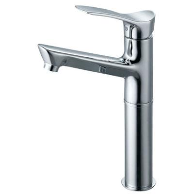 SANEI(旧:三栄水栓製作所):シングルワンホール洗面混合栓 型式:K4712NJV-2T-13