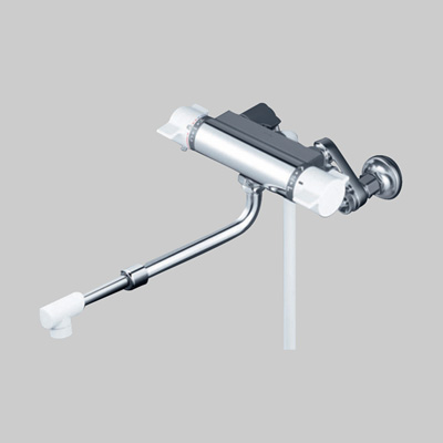 KVK:サーモスタット式シャワー(伸縮自在パイプ付) 型式:KF800HASJ
