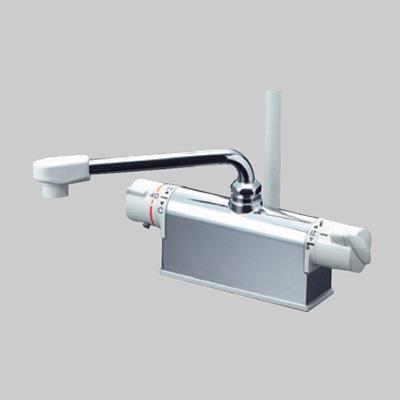 100%正規品 型式:KF771ZNR2:配管部品 店 KVK:デッキ形サーモスタット式シャワー(85mmタイプ)-DIY・工具