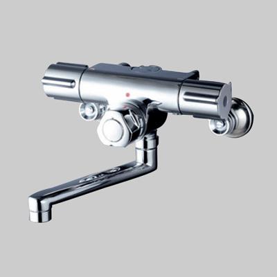 KVK:定量止水付2ハンドル混合栓 型式:KM59WG