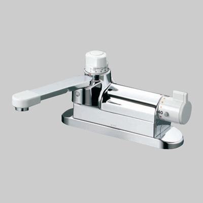 KVK:デッキ形定量止水付サーモスタント式混合栓 型式:KM297ZG