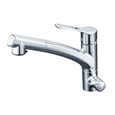 KVK:浄水器付シングルレバー式シャワー付混合栓 型式:KM5061NSC