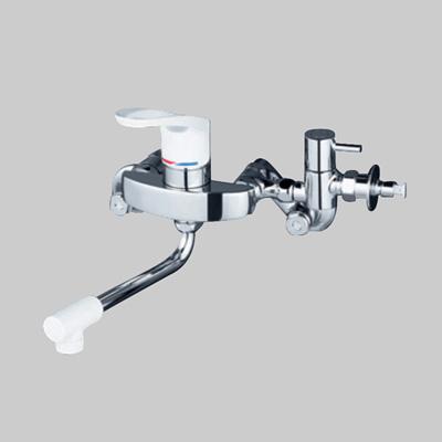 KVK:シングルレバー式混合栓(給水・給湯接続) 型式:KM5000CHTU
