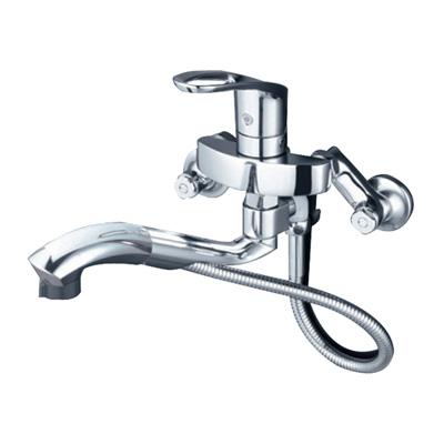 KVK:シングルレバー式シャワー付混合栓 型式:KM5000TTP