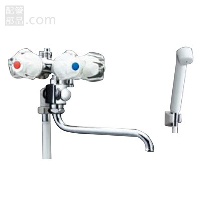 LIXIL(INAX):一般水栓+シャワーパス水栓+スプレーシャワーセット 型式:BF-612-G