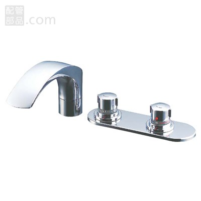 LIXIL(INAX):サーモスタット付バス水栓 デッキタイプ 型式:BF-X195TL