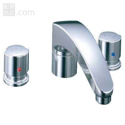 LIXIL(INAX):アウゼ+2ハンドルパス水栓 型式:BF-A090B-U