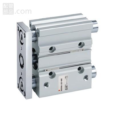 SMC:ガイド付薄形シリンダ 型式:MGPL25-100Z(1セット:10個入)