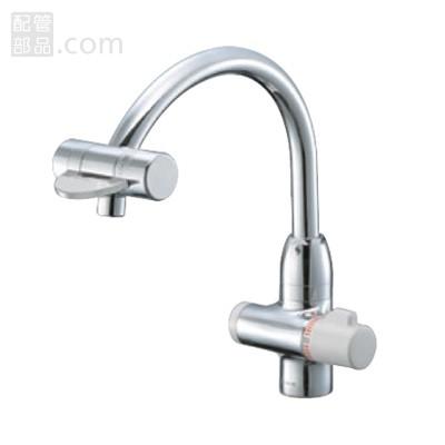 SANEI(旧:三栄水栓製作所):サーモワンホール混合栓(先止) 型式:K88010V-13