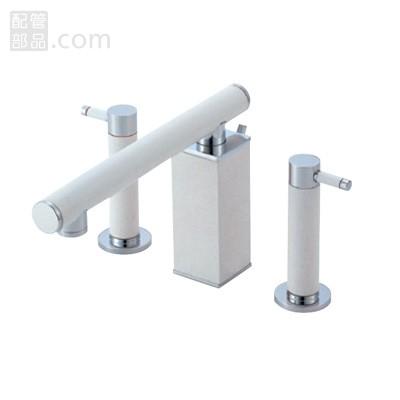 SANEI(旧:三栄水栓製作所):ツーバルブ洗面混合栓 型式:K55300P-JW-13