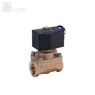 CKD:パイロットキック式2ポート電磁弁(ピストン駆動) <APK11> 型式:APK11-25A-C4A-AC200V
