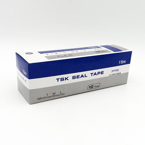 化学製品 シールテープ 公式ショップ シール剤 東栄管機:TSKシールテープ JIS相当品 激安卸販売新品 1セット:10個入 10巻 JIS相当品15m 型式:TSKシールテープ