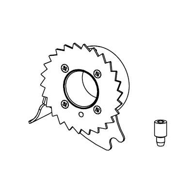 白光:カッティングホイールH側 型式:A1097