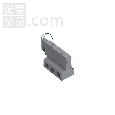 CKD:パイロット式5ポート弁 ベース配管 型式:4GB310-08-E2-3