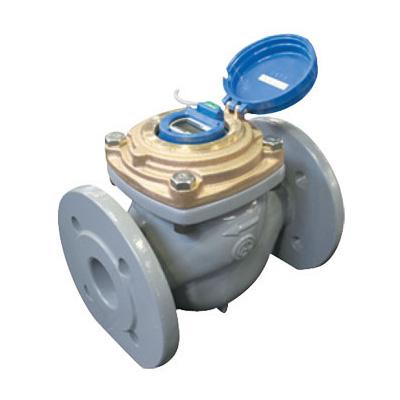 愛知時計電機:たて形軸流羽根車式水道メーター <EATW> 型式:EATW100 5(上水フランジ)