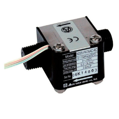 愛知時計電機:接線流羽根車式流量センサー 型式:ND10-TATAAA-RC