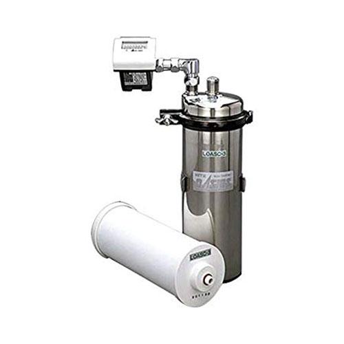 キッツマイクロフィルター:オアシックス業務用A浄水器(流量計付) <LOAS-3> 型式:LOAS-3